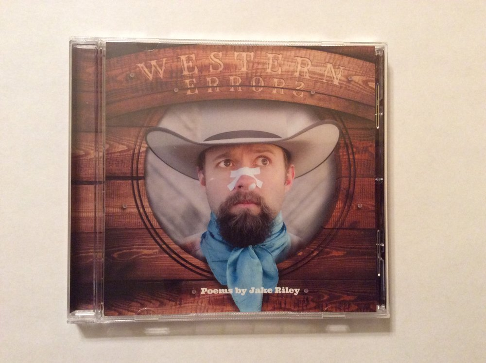 Jake Riley's 'Western Errors' CD, recorded, mixed and mastered by Tone Tree Audio, LLC.