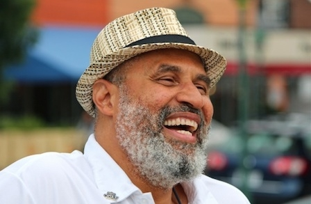 Photo of Tim Seibles by John Doucette