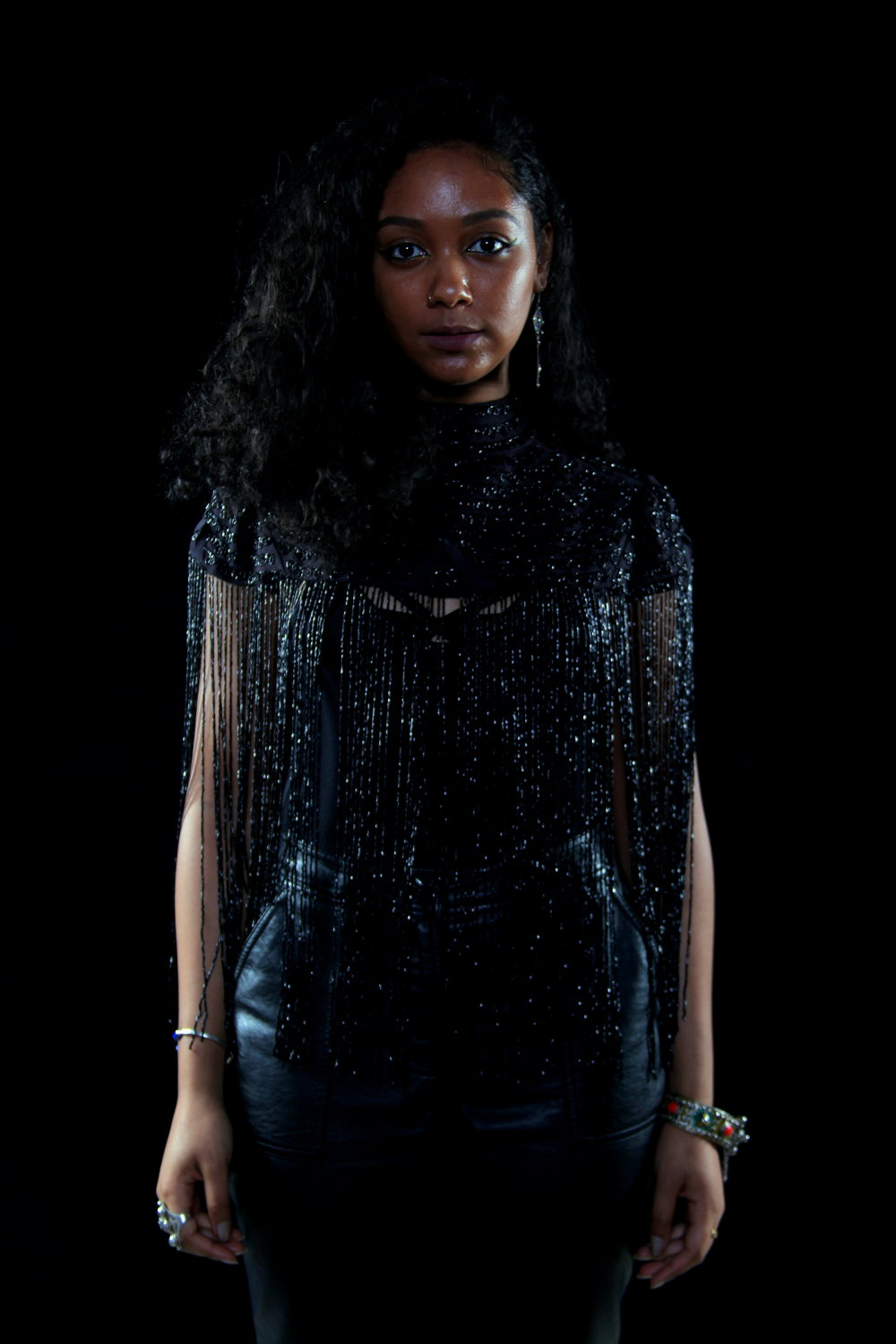 Photo of Safia Elhillo by Dexter R. Jones