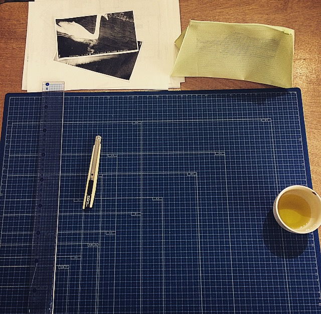 tools and green tea