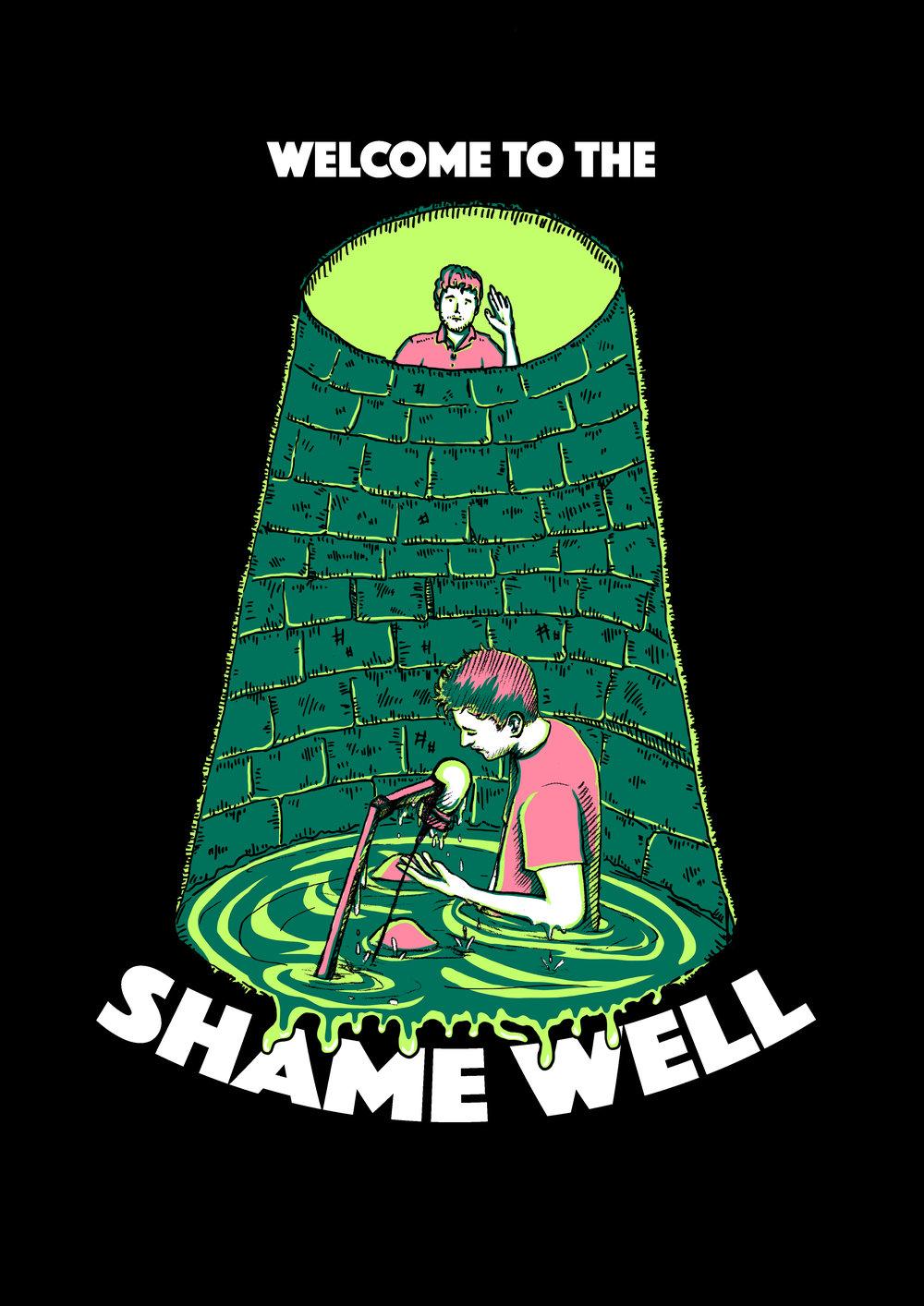 Shame Well print design 2017 (w/Jenny Grene)