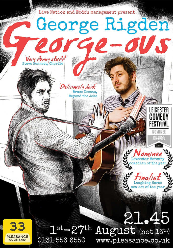 George Rigden: George-ous 2018 poster