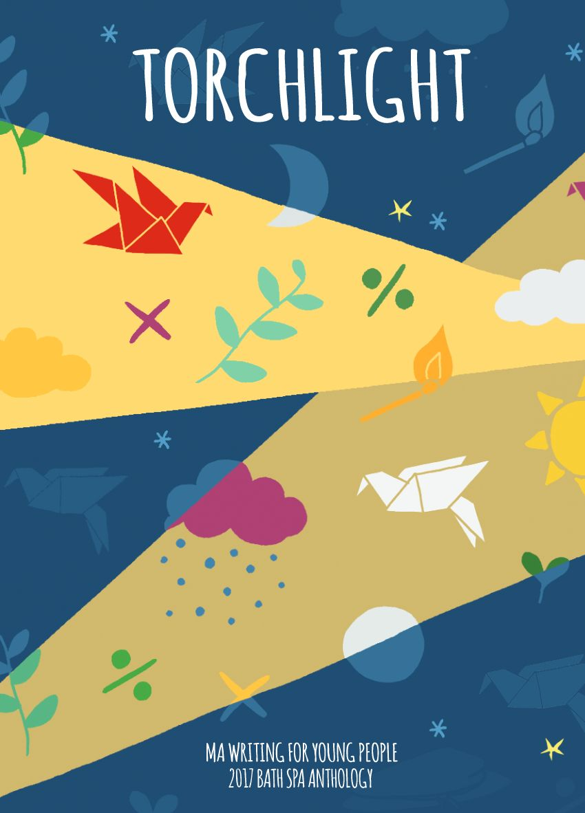 Cover of the Anthology, by Joanna Stronach.