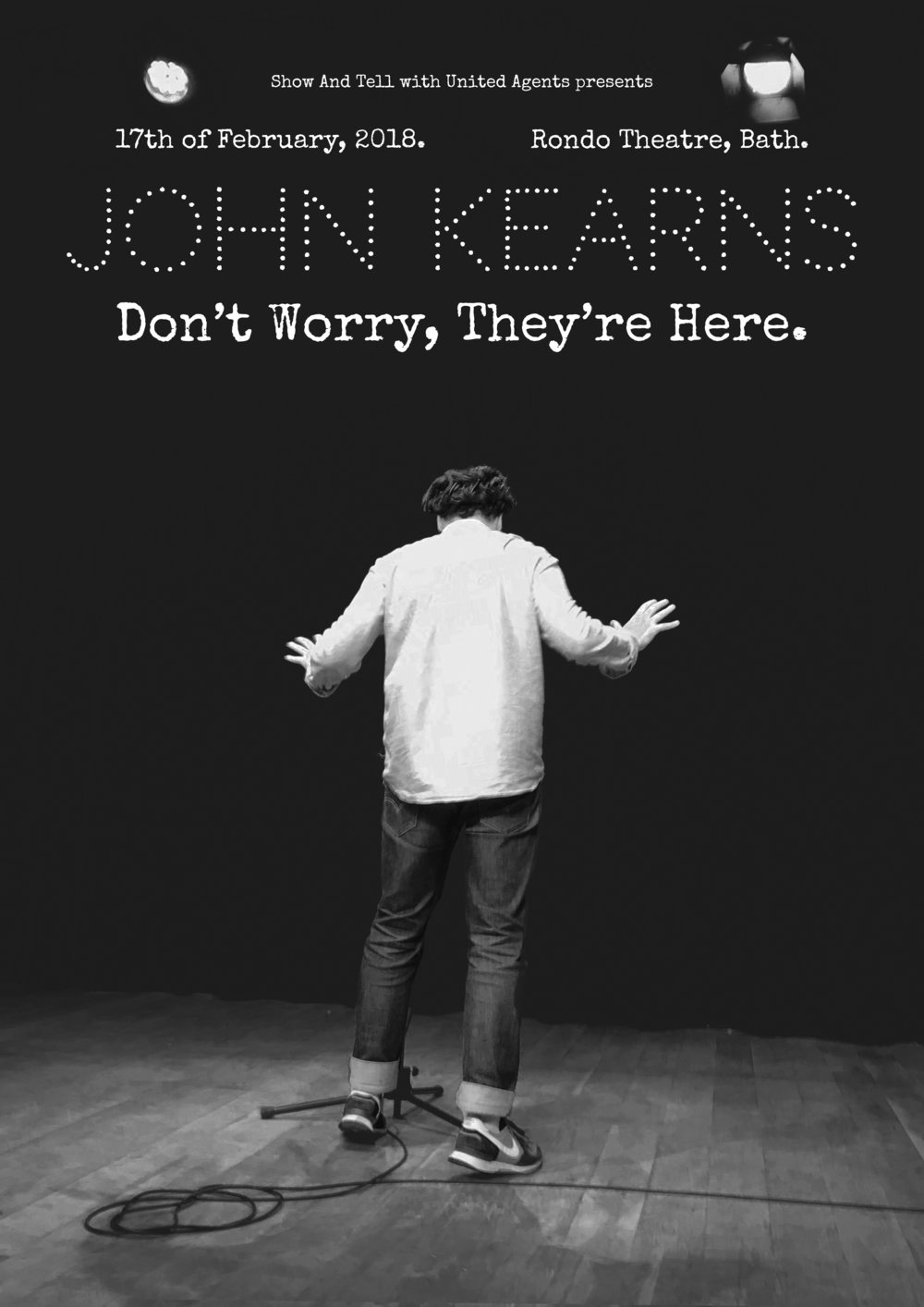 The final version of the John Kearns poster.