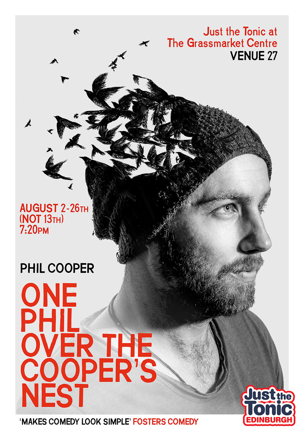 Phil Cooper: One Phil Over The Cooper's Nest 2018 poster