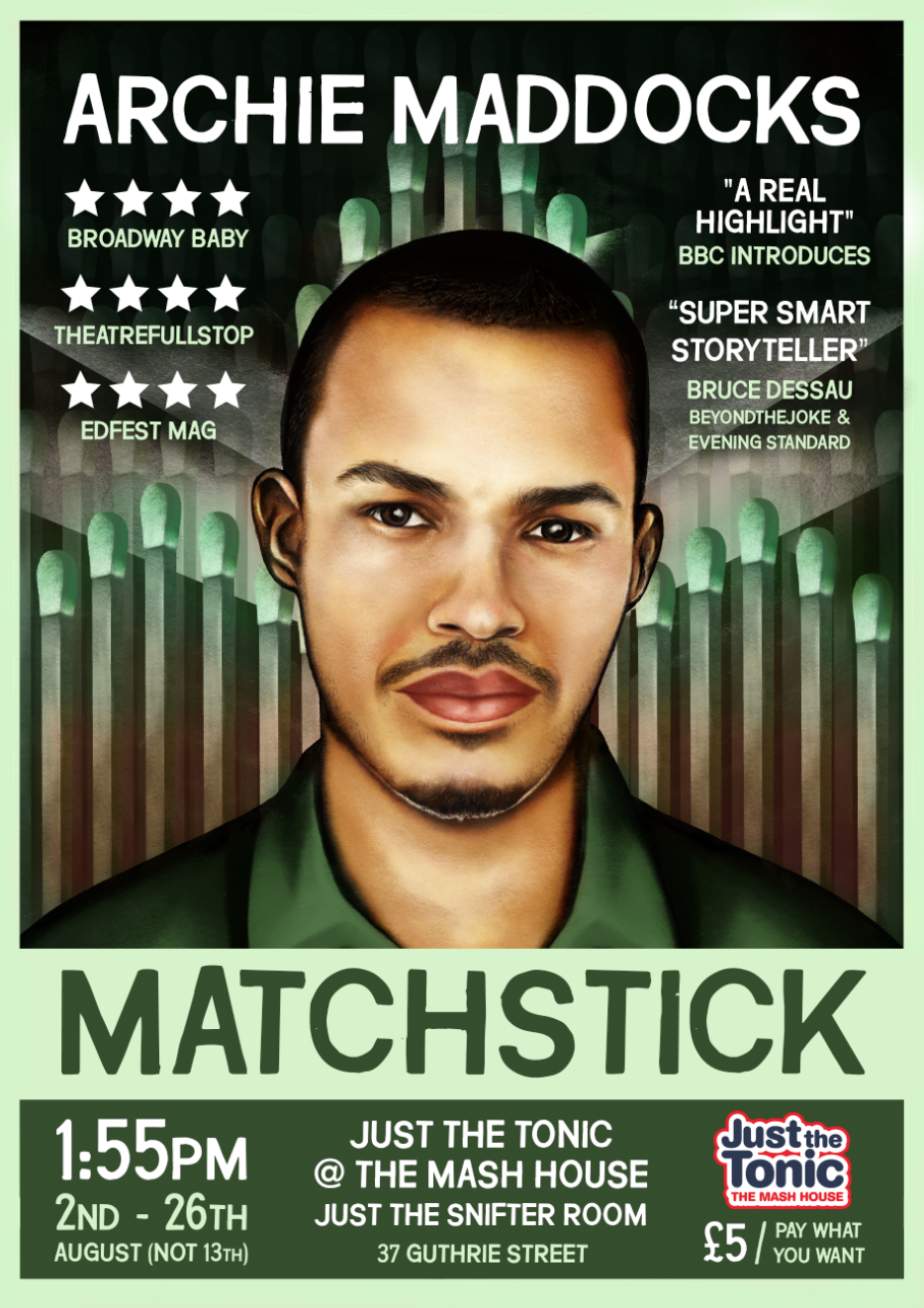 Archie Maddocks: Matchstick 2018 poster