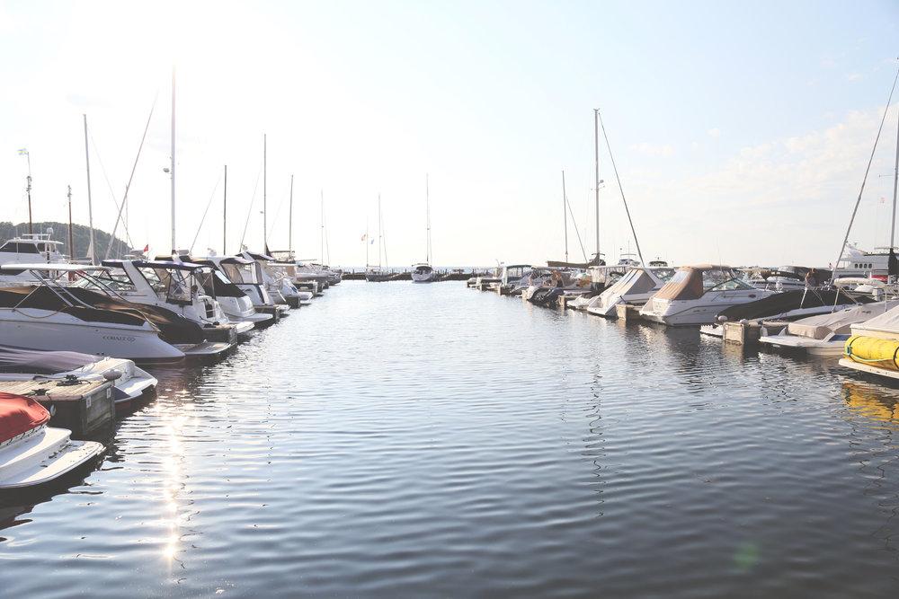 Boats everywhere!