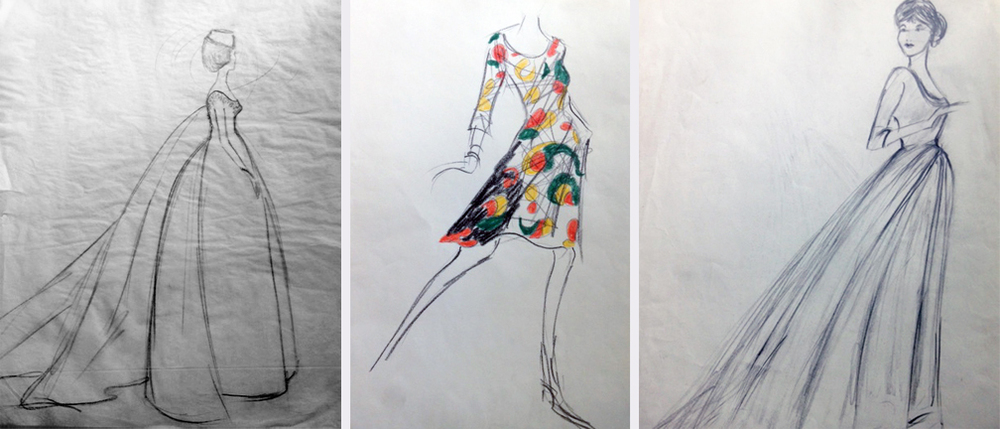 Fashion illustration by Nick Censullo.