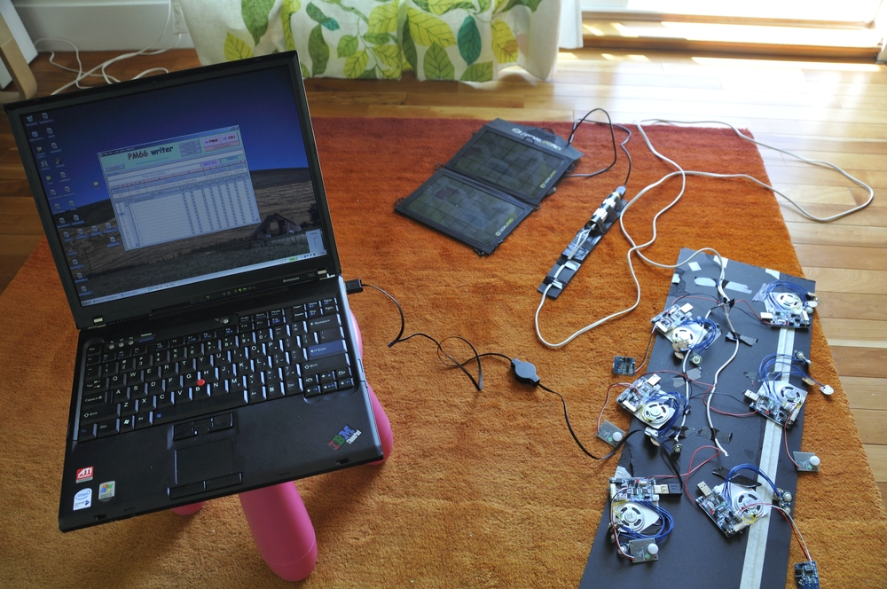 Sound Pod Testing area