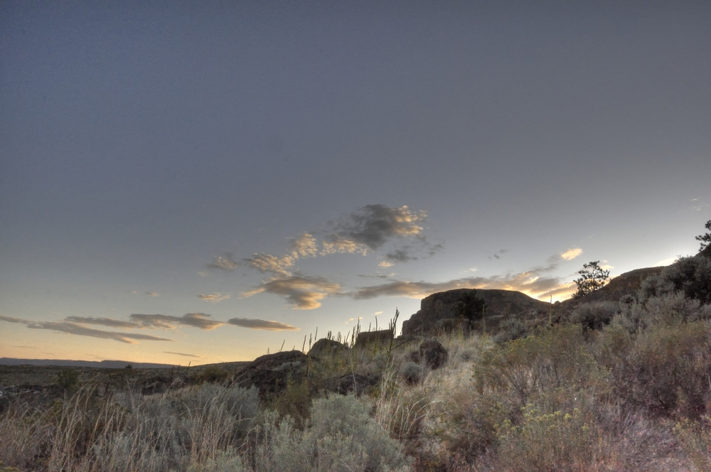 Scablands sky