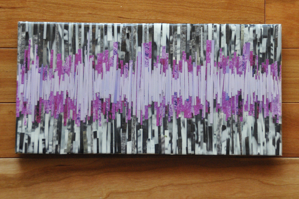 Sound Waves as Visuals, another layer yet to come.
