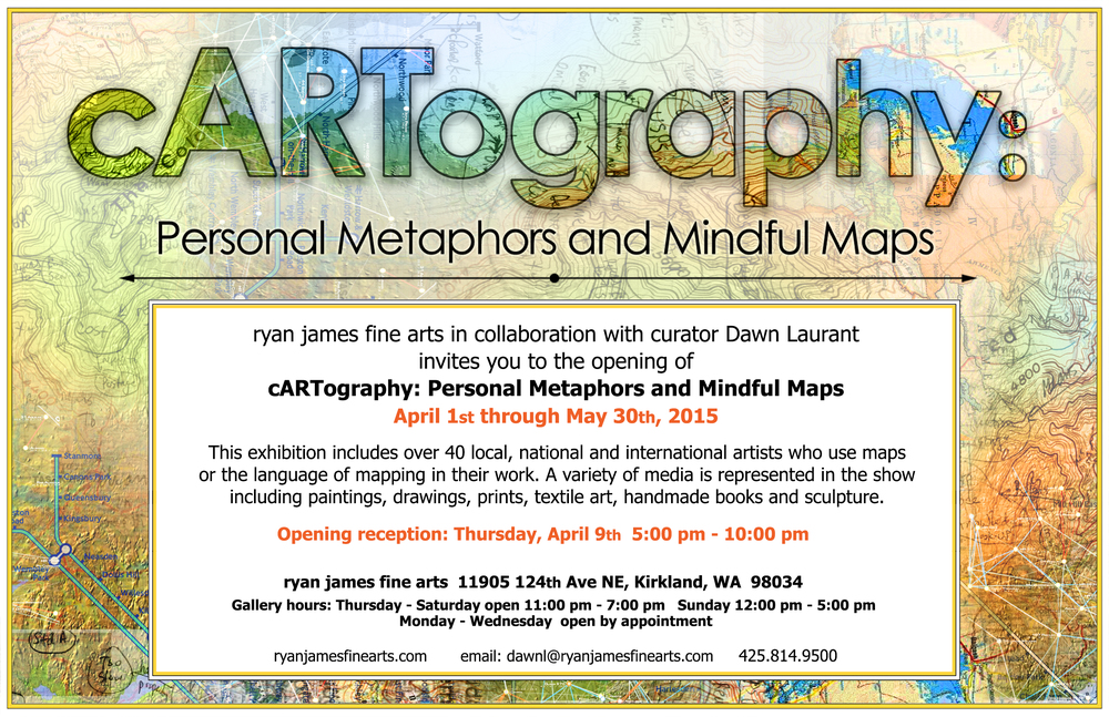 cARTography at Ryan James Fine Arts