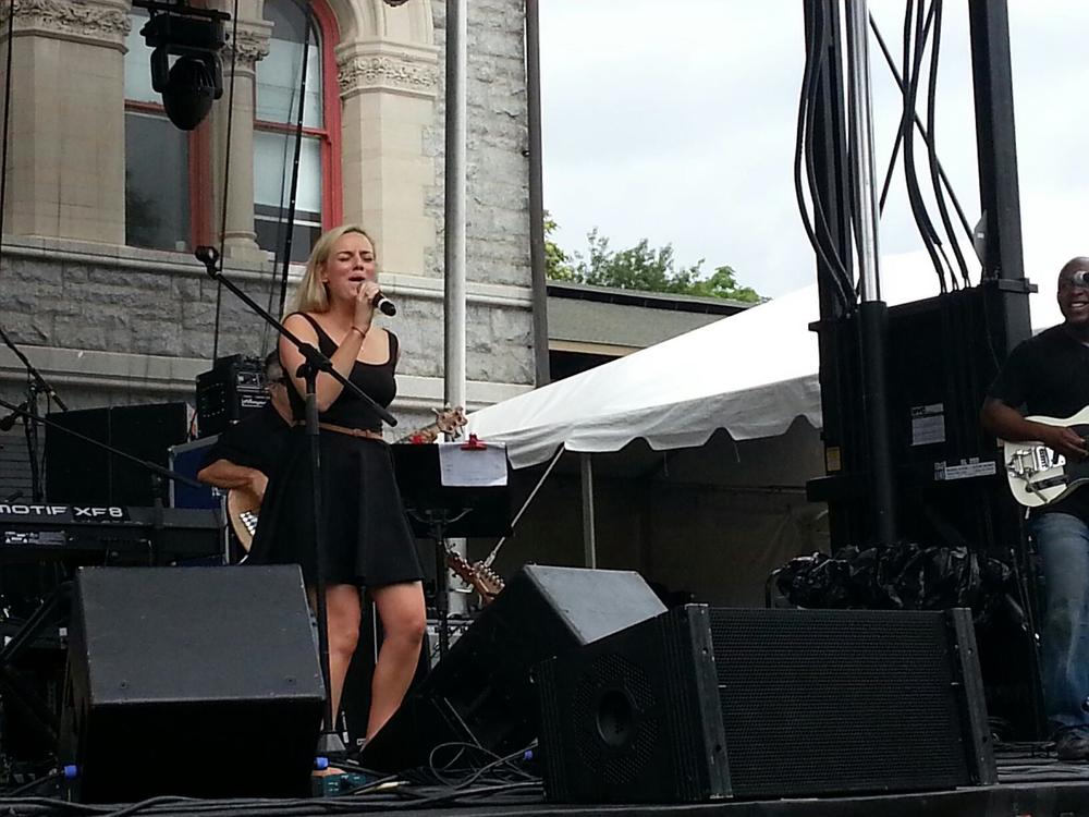Em at Artscape '12 - Baltimore