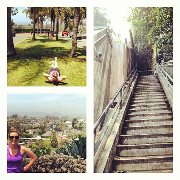 (pic from Santa Monica - The Stairs (workout) at Adelaide & 4th st.) 5/21/13