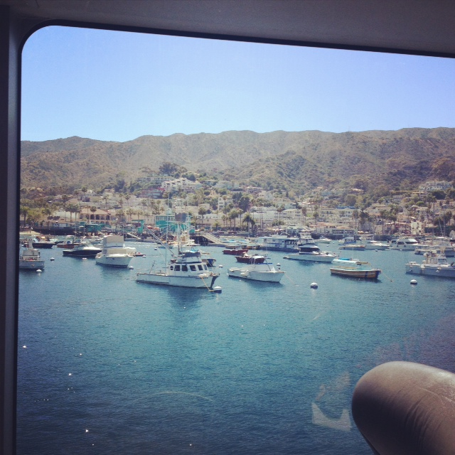 catalina on the boat