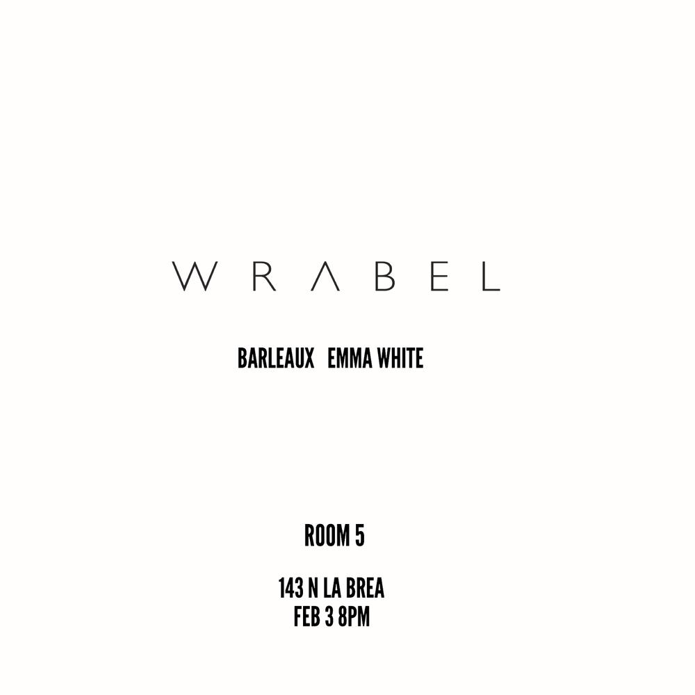 WRABEL/BARLEAUX/EMMA WHITE