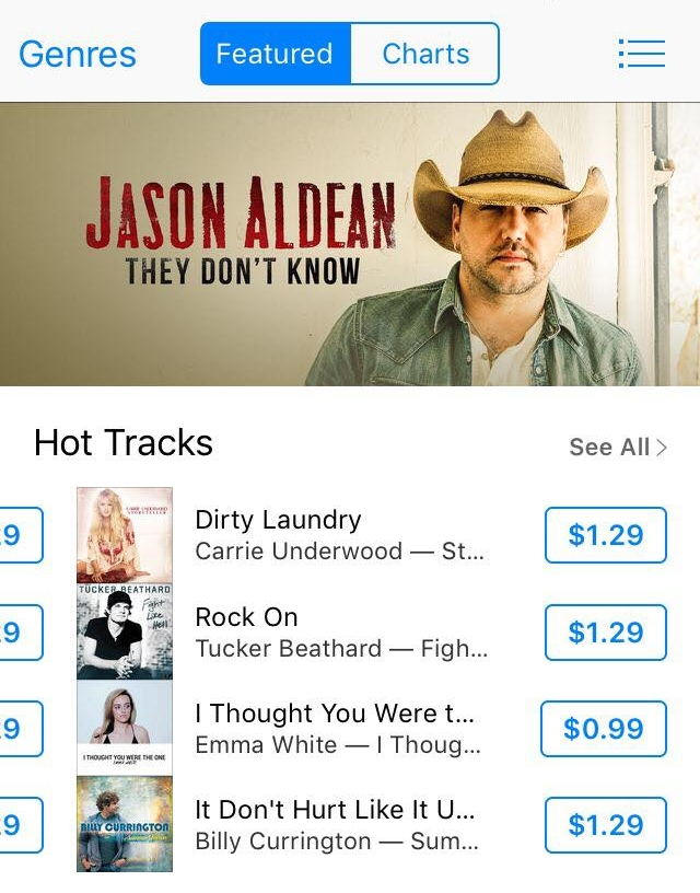 Thank you iTunes!