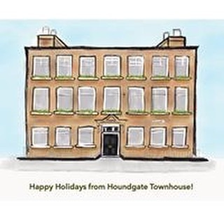 Happy Holidays from all at @hgtownhouse #darlington #houndgatetownhouse #christmas