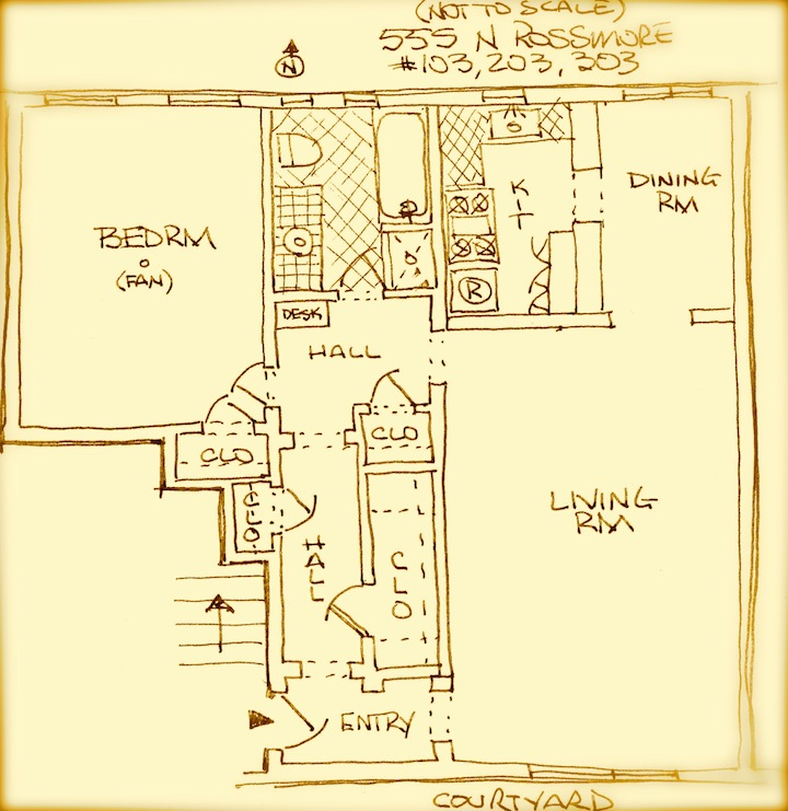 Large and great floor plan, actual plan is similar