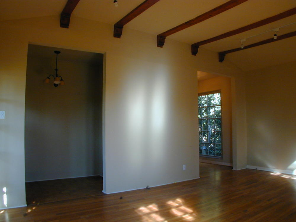 View from Living Room toward Entry and Dining