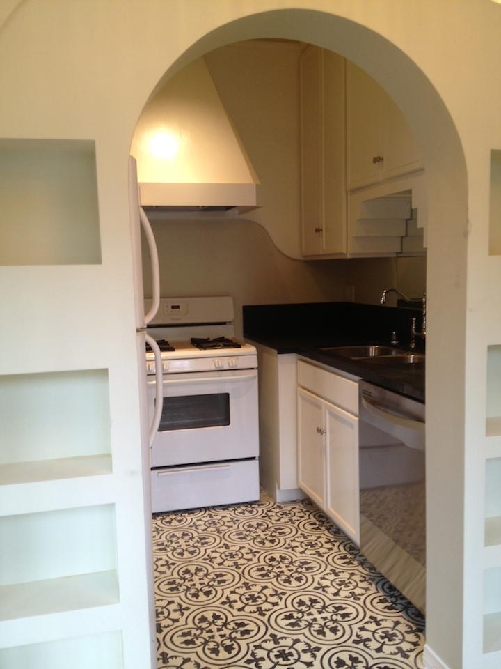 > Near identical kitchen, under construction