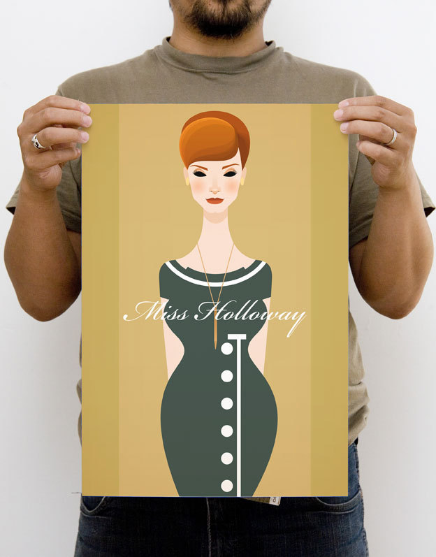 Cracking Mad Men illustrations from Manchester-based illustrator Stanley Chow