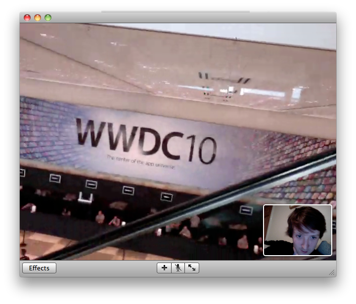 Just been on a tour of the Apple WWDC conference, from my sofa