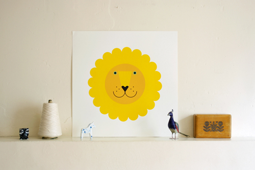 Edinburgh illustrator Verity Keniger - Lions and Tigers and Chocolate, oh my