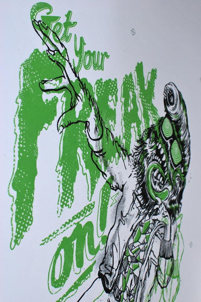 Brighton illustrators get their freak on