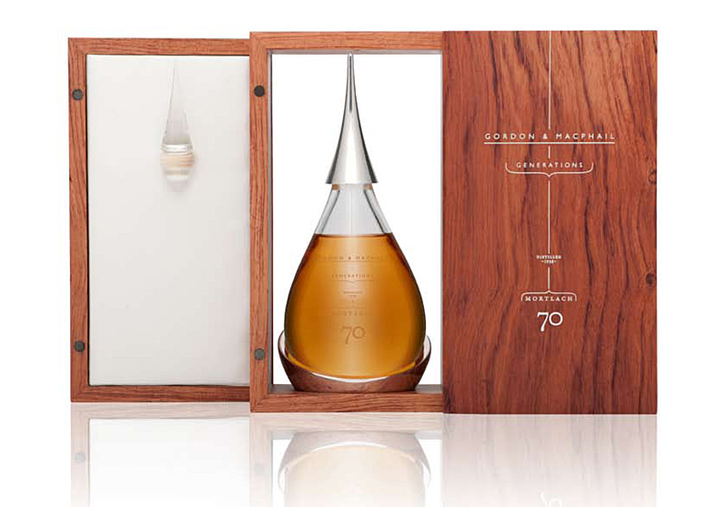 One precious drop of whisky, beautiful packaging by Donna Hainan at Navyblue