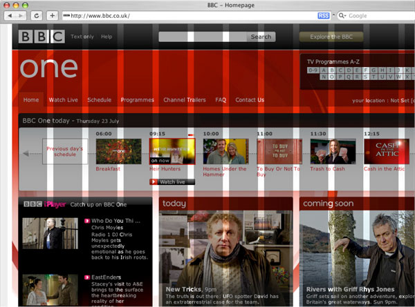 How the BBC approached the global resdesign