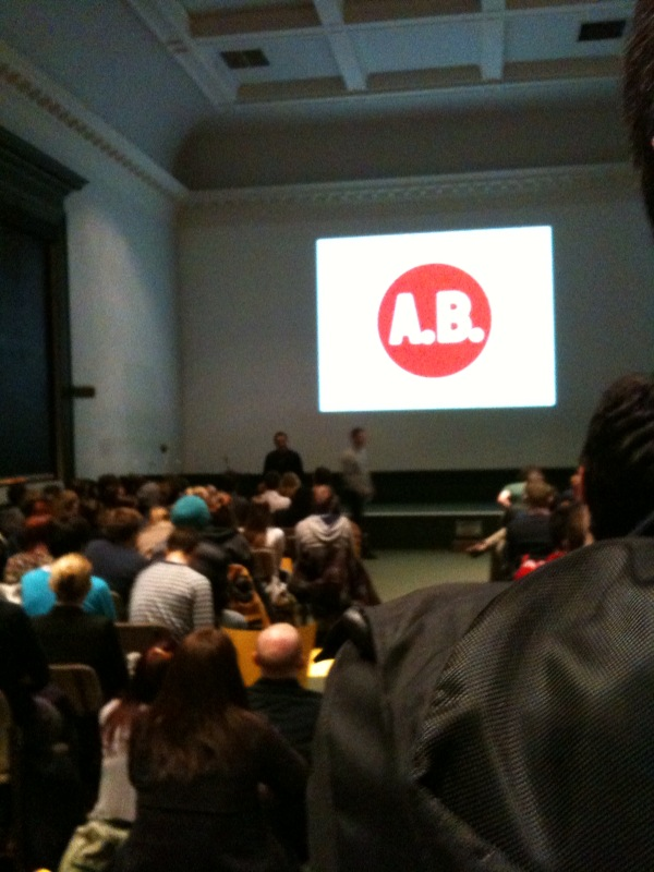 A night with Anthony Burrill
