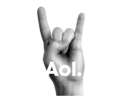 The new AOL brand .... interesting