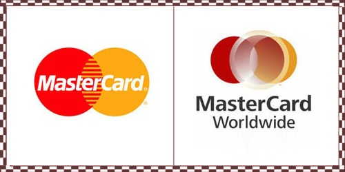 25 Logos that had a refresh this year (including Audi & Mastercard)