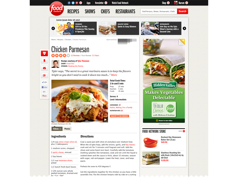 Food network ranee chung recipe page forumfinder Choice Image