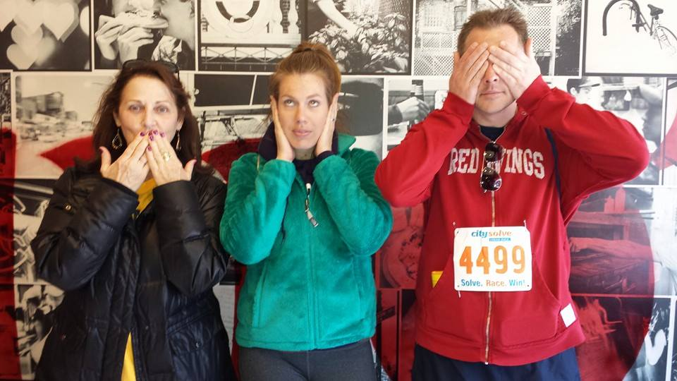 Team Mad Magicians: Speak no evil, hear no evil, see no evil--Urban Race style!