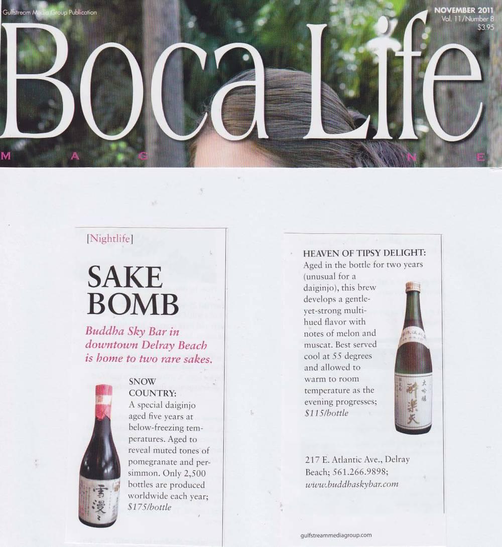 Boca Life Sake November 2011.jpg