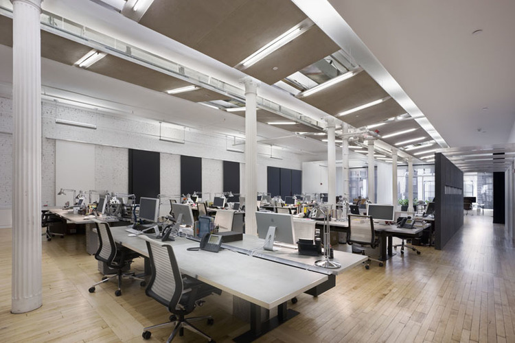 Taking a close look at the open office bostudio for Office interior design nyc