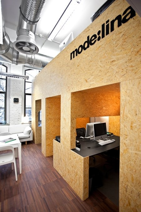 How about your own workstation hut? Modelina office in Poznań Poland, via Archetizer.