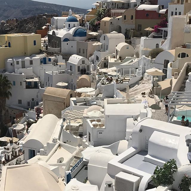One more. I cannot help it. #oia #santorini #nofilternecessary