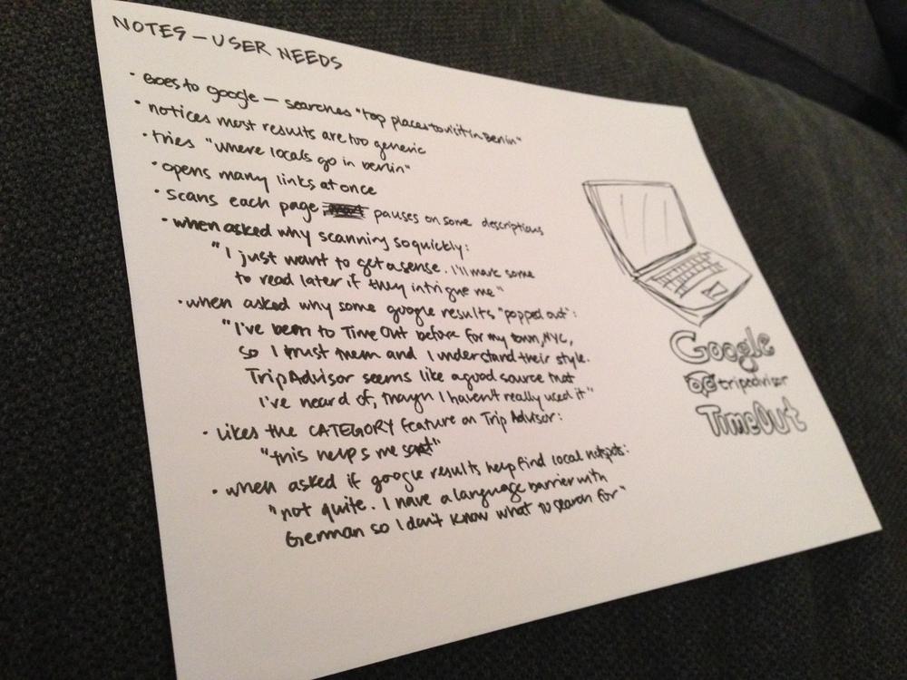 Taking notes!