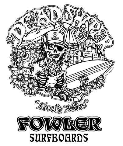 Bruce Fowler's logo by Robert Heeley