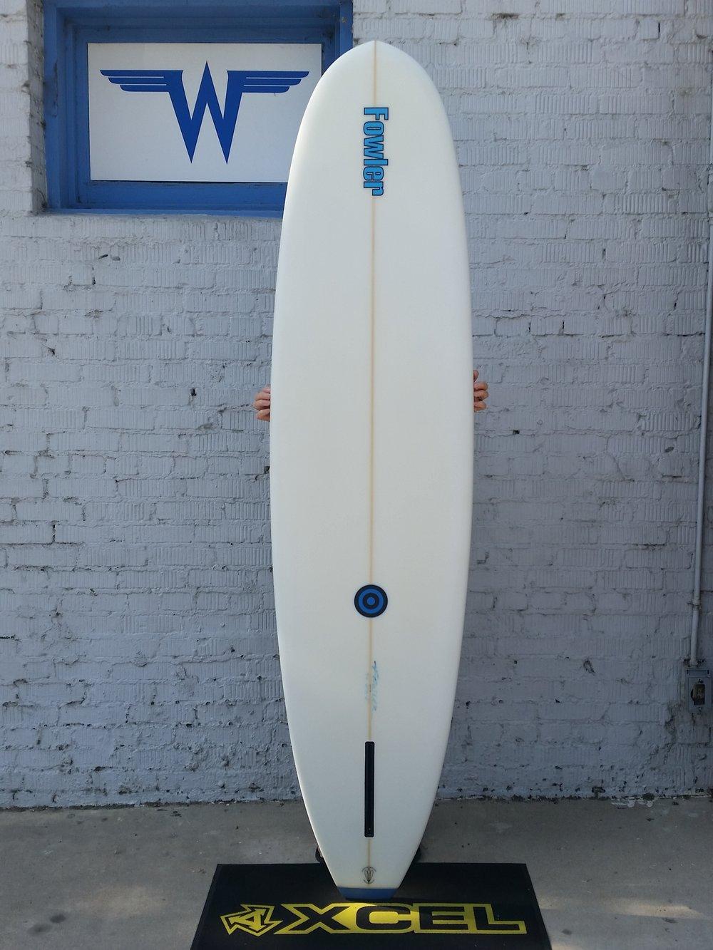 Fowler Surfboards 7 6 Mini Longboard Wave Front Surf Shop