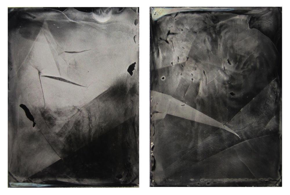 Fissure (diptych), 2013