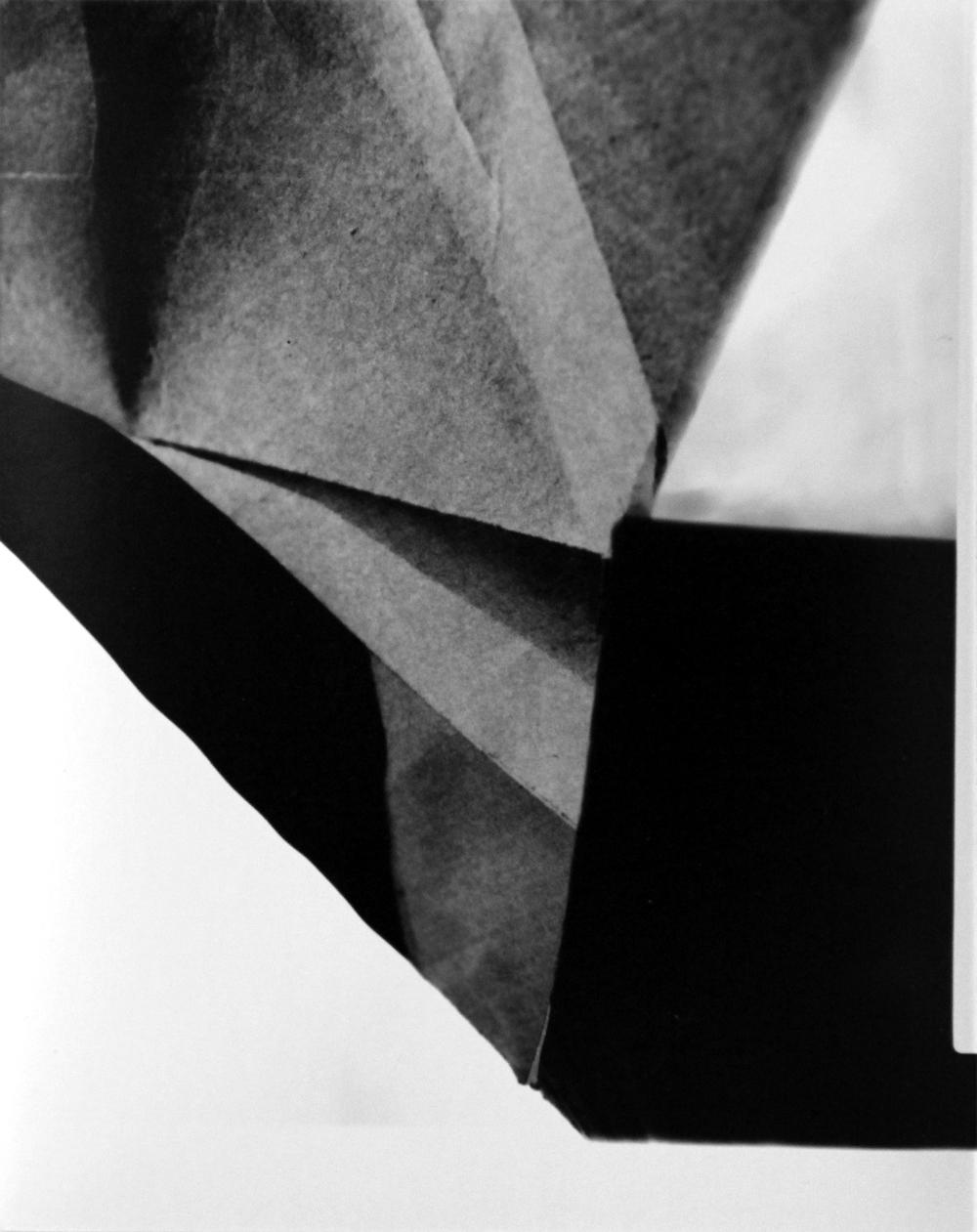 gelatin silver print (paper negative)  4 3/4 x 3 3/4 inches