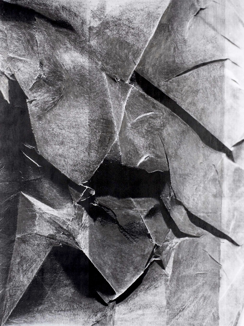 Curtain (Graphite), 2013