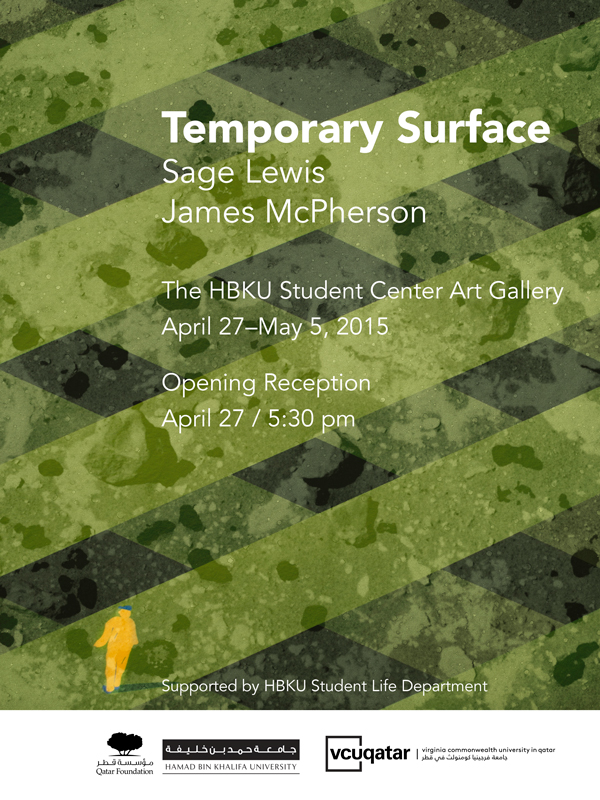 temporary surface