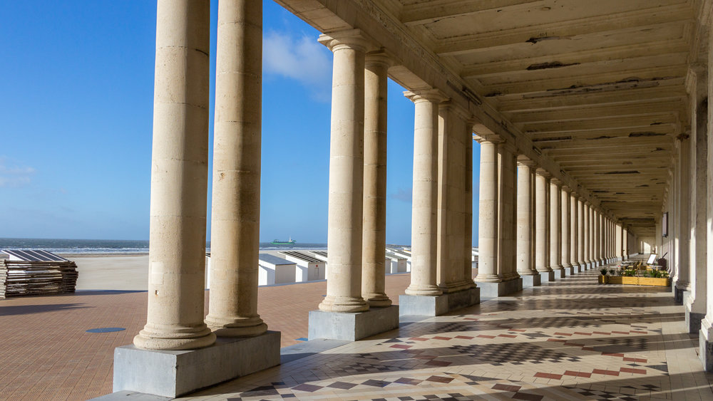 The Promenade, reversed view