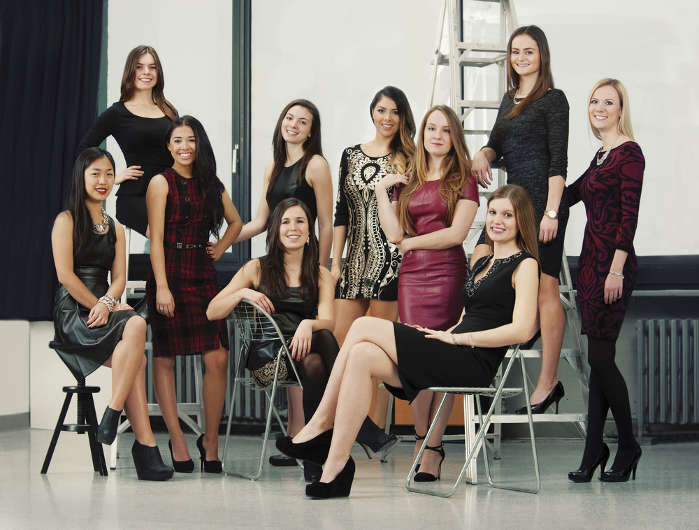 In my first year at McGill University, I co-founded along with nine other dynamic women, the university's first fashion business conference (Fashion Business Uncovered).
