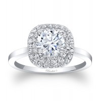 Halo Engagement Ring - 7918LW